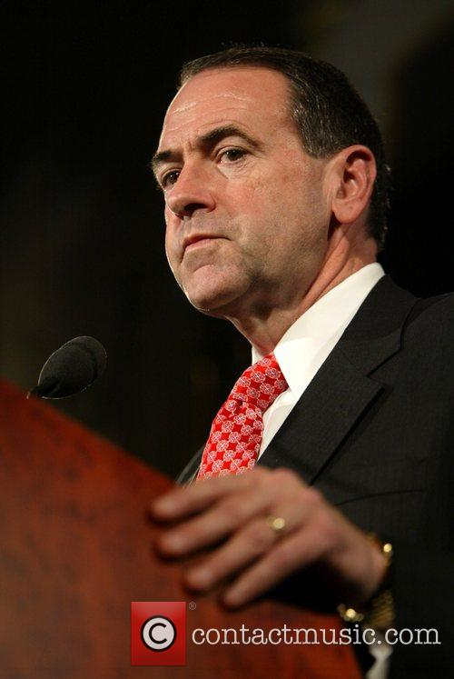 Presidential Candidate Governor Mike Huckabee AFP AFP Americans...
