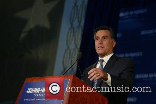 Presidential Candidate Mitt Romney AFP Americans for Prosperity...