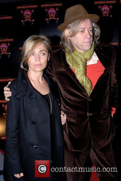 Bob Geldof Premiere of 'Afrika! Afrika!' at O2...