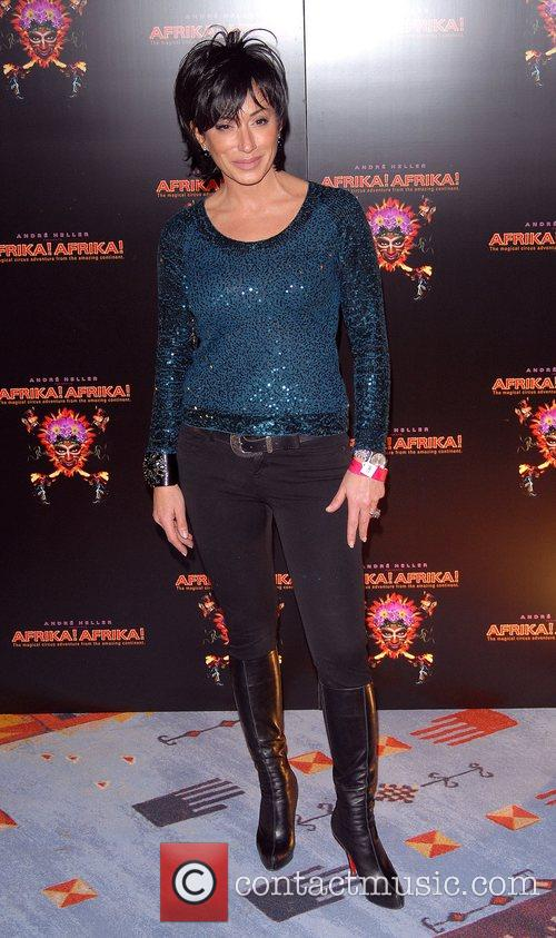 Nancy Dell'Olio Premiere of 'Afrika! Afrika!' at O2...
