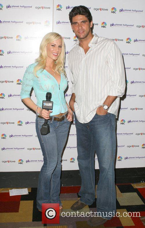 Mark Philippoussis and Denise Pernula Weekly Viewing Party...