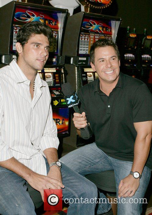 Mark Philippoussis and Carlos Diaz Weekly Viewing Party...