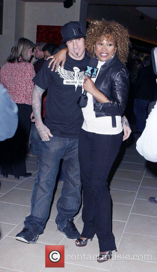 Carey Hart and Tanika Ray 7