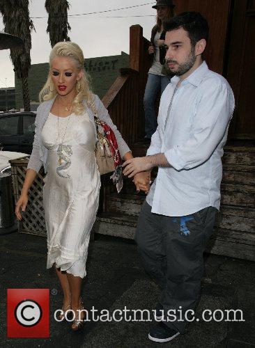 Christina Aguilera and Jordan 10