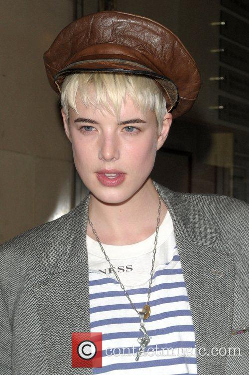 Agyness Deyn at Mulberry Space Presents: Gethin Moller...