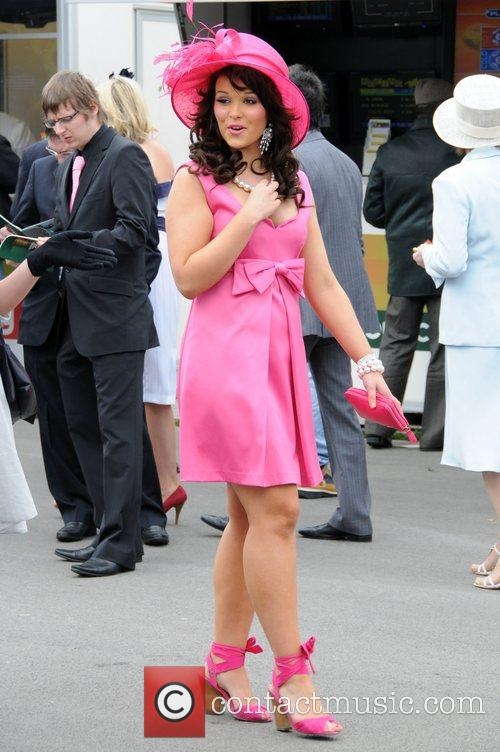 Guest attending Lady's Day at the 2008 Aintree...