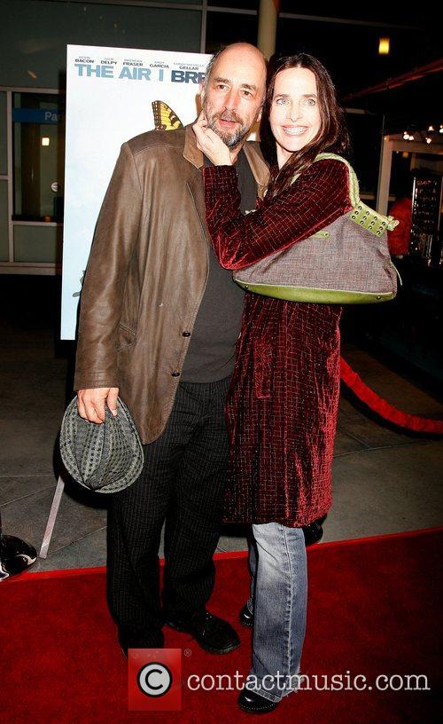 Richard Schiff and wife Sheila Kelley LA premiere...