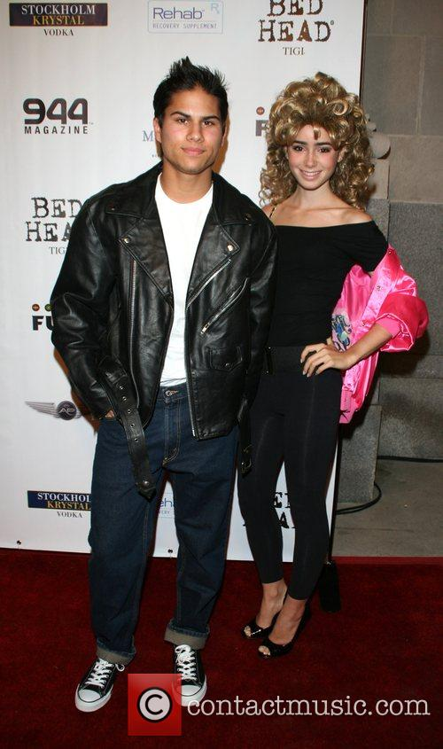 RJ Fensky and girlfriend Air Party's 4th annual...