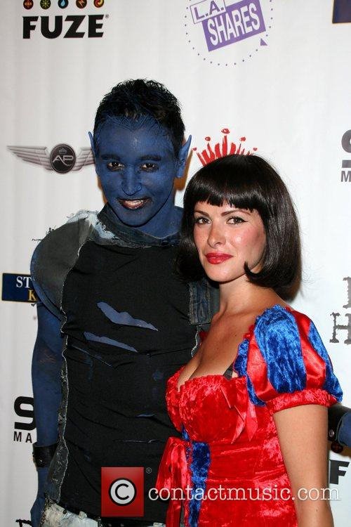 Guests Air Party's 4th annual 'Halloween celebrity charity...