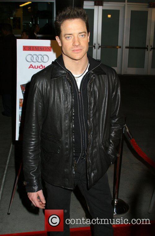 Brendan Fraser LA premiere of 'The Air I...
