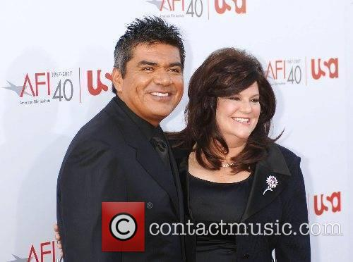 George Lopez and Guest 35th AFI Life Achievement...