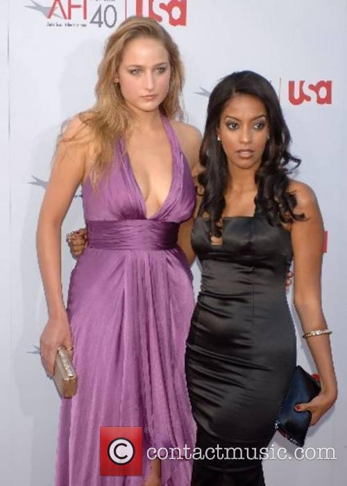 Leelee Sobrieski and Guest 35th AFI Life Achievement...