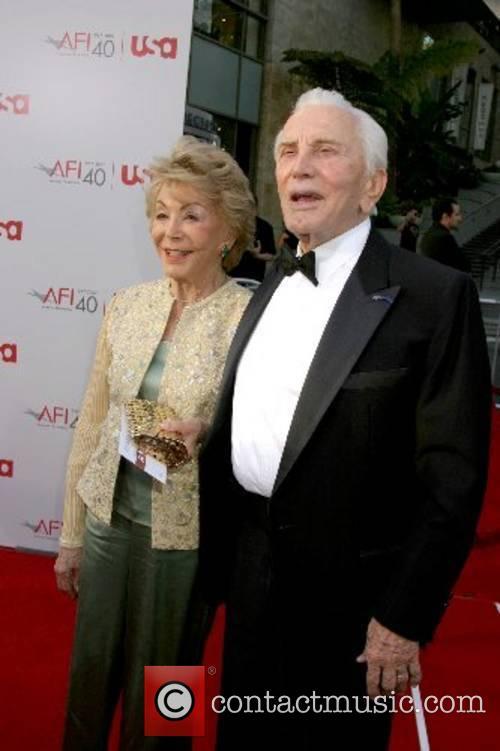 Anne Douglas & Kirk Douglas 35th AFI Life...