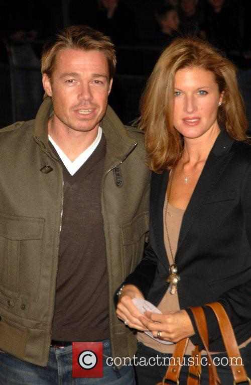 Graham Le Saux and wife