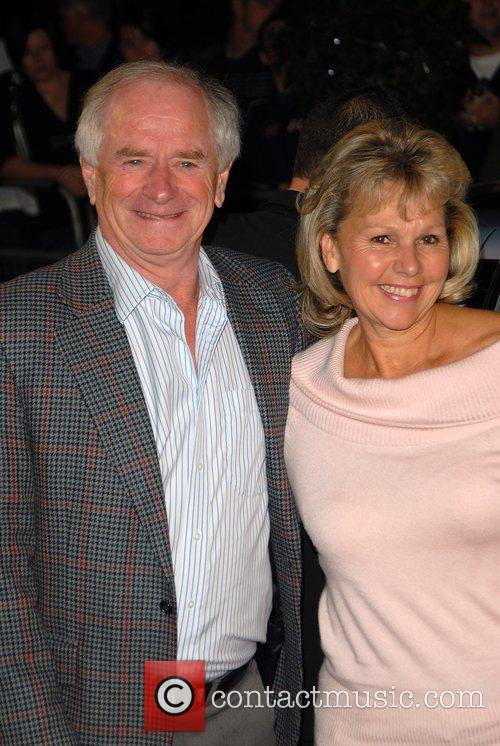 Johnny Ball and guest