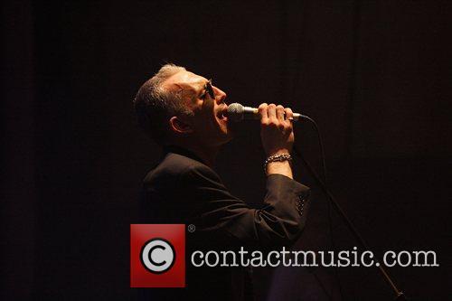 Alabama 3 performing at the Brixton Academy London,...