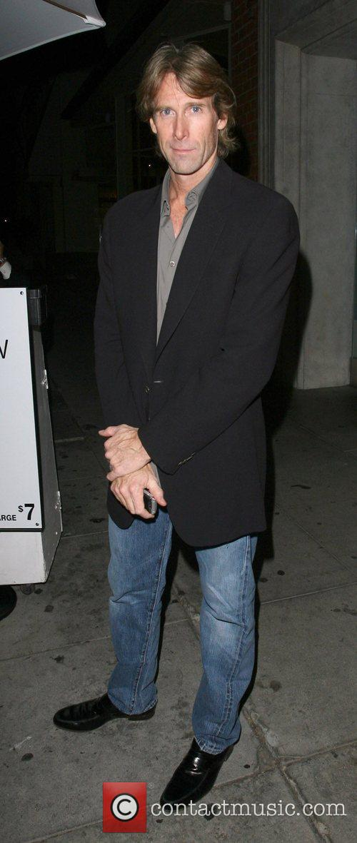 Leaves Mr Chow restaurant after having dinner with...