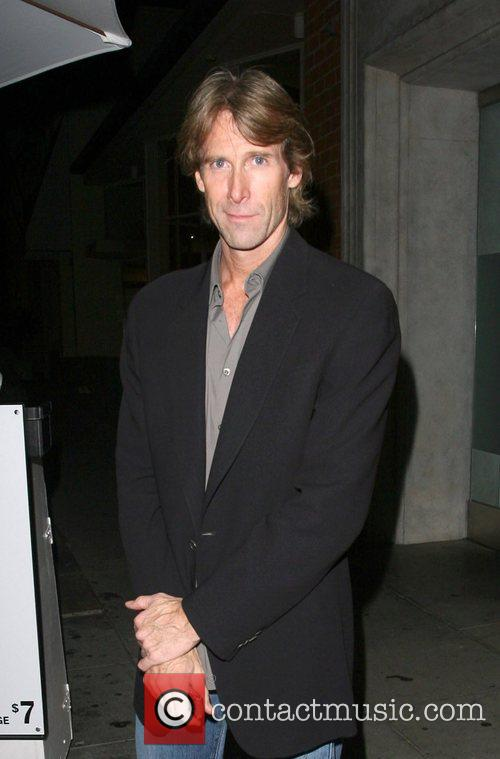 Michael Bay Leaves Mr Chow restaurant after having...