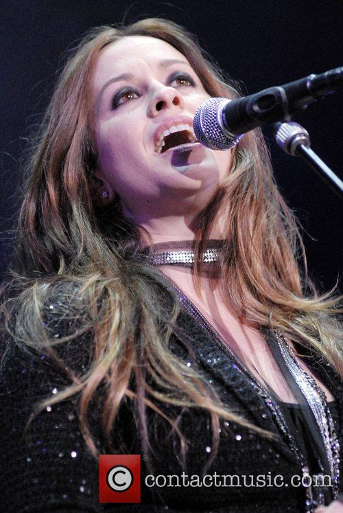 Alanis Morissette performing live at Staples Center