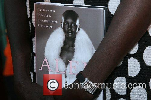 Alek Wek Launching of Alek Wek's new autobiography...