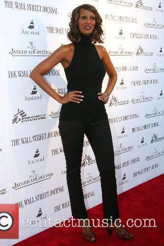Iman Launching of Alek Wek's new autobiography 'Alek:...