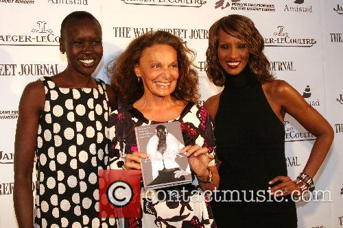 Launching of Alek Wek's new autobiography 'Alek: From...