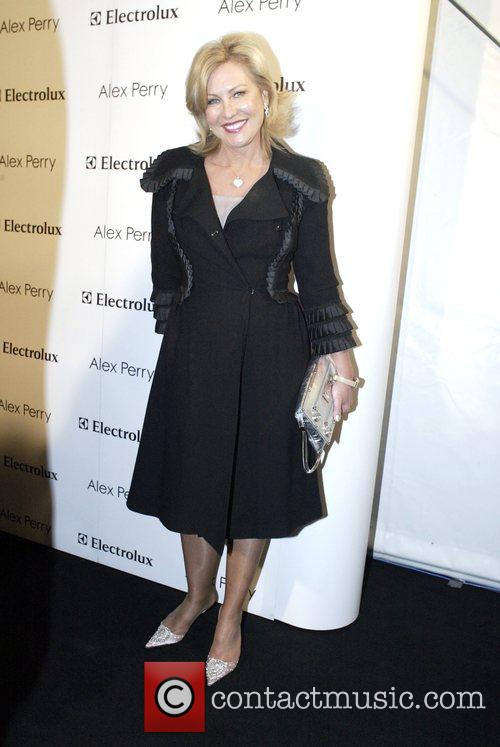 Kerri-Anne Kennerley Alex Perry Spring/Summer 2008/09 Collection -...