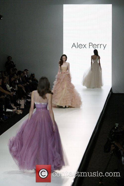 Alex Perry Spring/Summer 2008/09 Collection - Catwalk