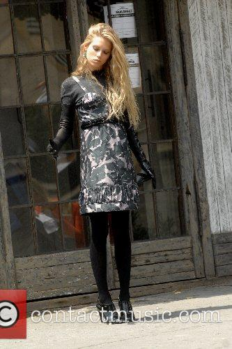 Alexandra Richards at a photoshoot in the West...