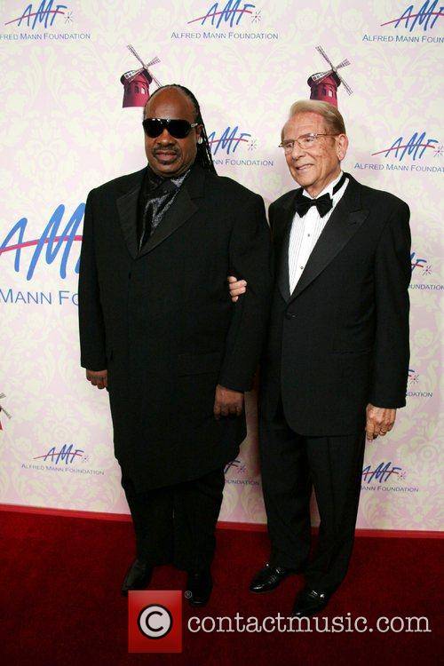 Stevie Wonder and Alfred Mann 5
