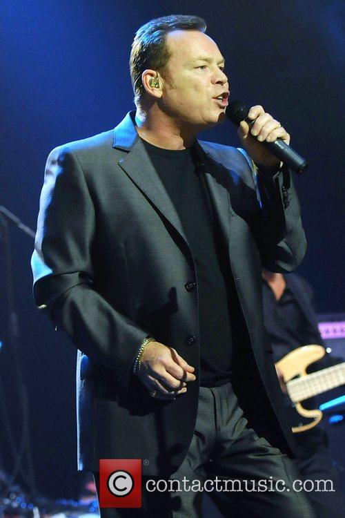 Ali Campbell performing live in concert at the...