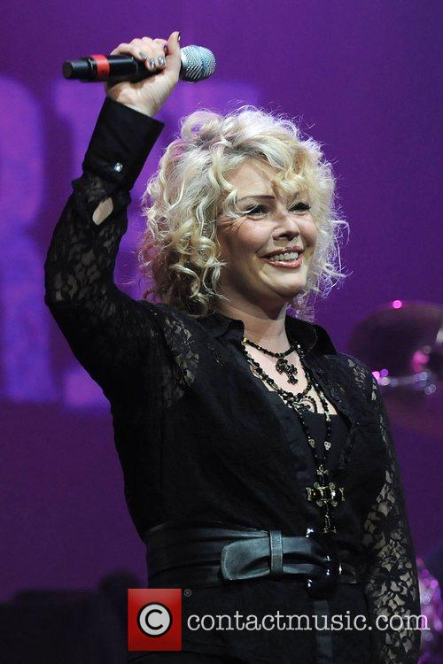 Kim Wilde performing live in concert at the...