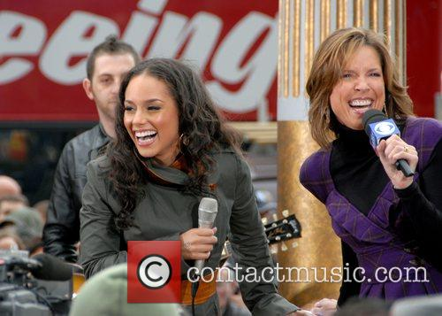 Alicia Keys and ABC host Alicia Keys performing...