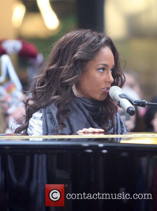 Performs live on NBC's 'The Today Show' Toyota...