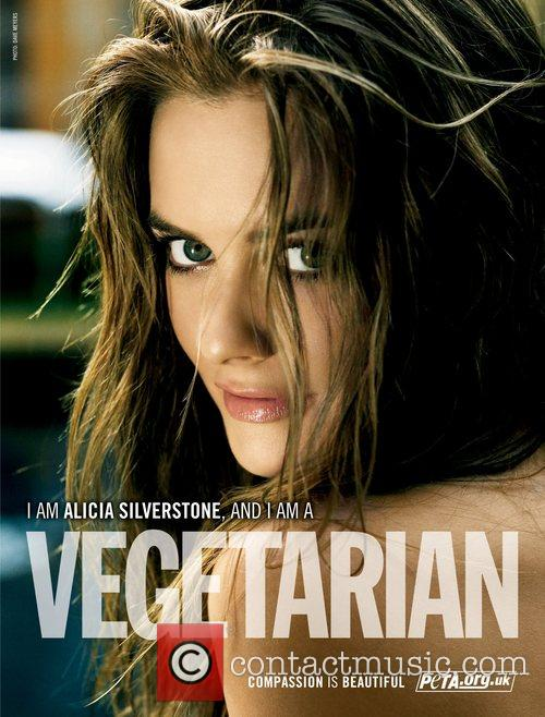 SILVERSTONE APPEARS IN NAKED AD  Hollywood star ALICIA SILVERSTONE...