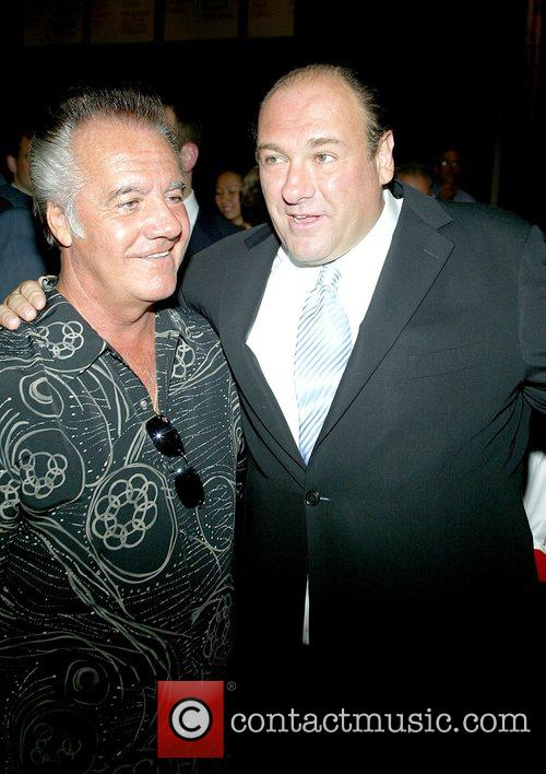 Tony Sirico and James Gandolfini The Premiere of...