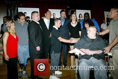 James Gandolfini and Cast The Premiere of HBO...