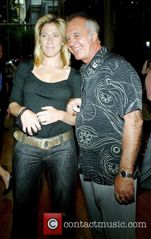 Edie Falco and Tony Sirico The Premiere of...
