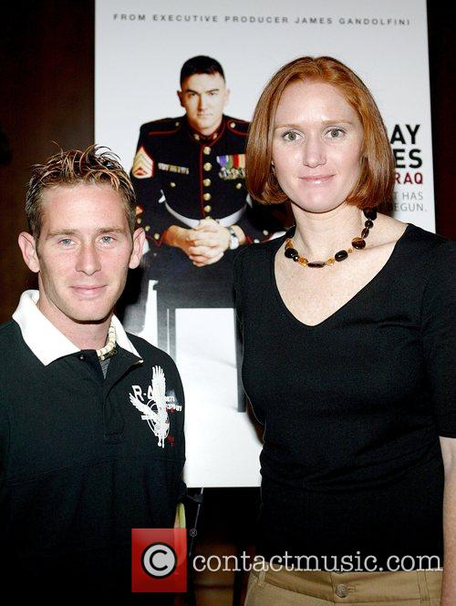 Sergeant Bryan Anderson and First Lieutenant Dawn Halfaker...