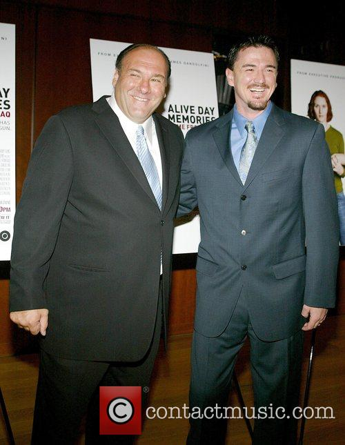 James Gandolfini and Staff Seargeant John Jones US...