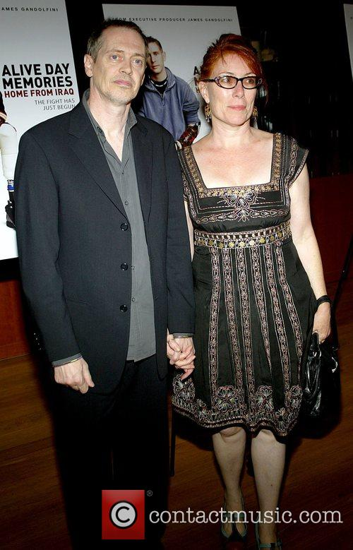 Steve Buscemi and Wife The Premiere of HBO...