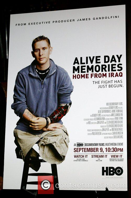 The Premiere of HBO Film Alive Day Memories...