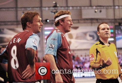 Geoff Bell at the Premier League All Stars...