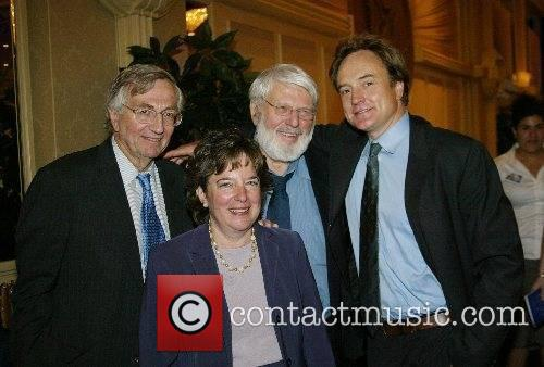 Seymour Hersh, Nan Aaron, Theodore Bikel and Bradley...