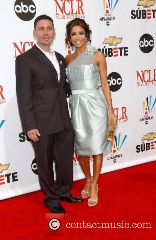 Eva Longoria and guest The 2007 Almas Awards...
