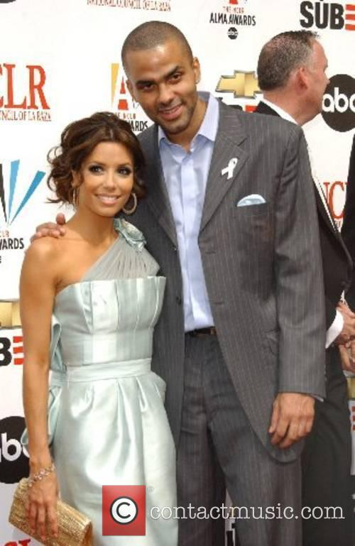 Tony Parker and Eva Longoria The 2007 Almas...