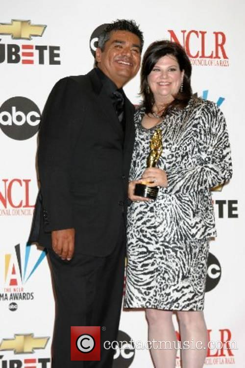 George Lopez and wife Ann The 2007 Almas...
