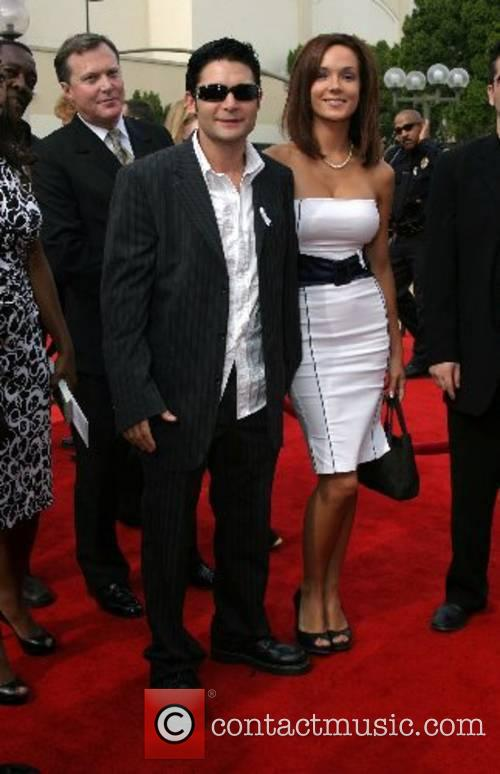 Corey Feldman & wife ALMA Awards 2007 Pasadena...