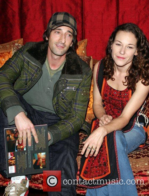 Adrien Brody and Rubria Marcheens Negrao Book launch...