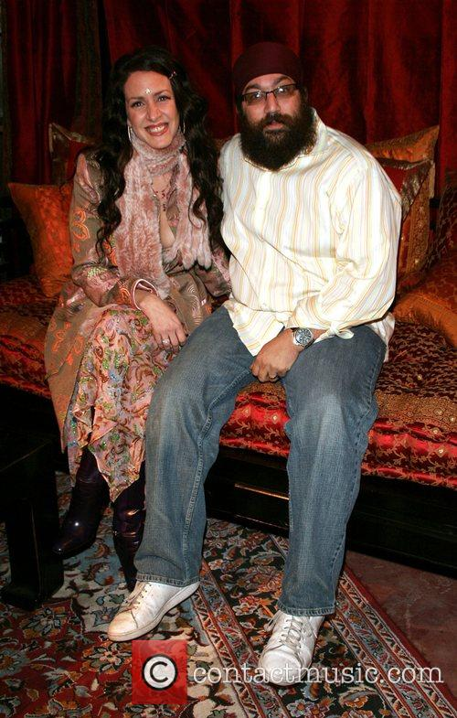 Joely Fisher and Jagat Joti Khalsa Book launch...